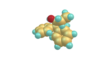 opioid: Betamethadol, or betametadol, is a synthetic opioid analgesic. It is an isomer of dimepheptanol. 3d illustration Stock Photo