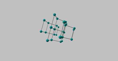 uranium: Uranium is a chemical element with symbol U and atomic number 92. It is a silvery-white metal in the actinide series of the periodic table. 3d illustration Stock Photo