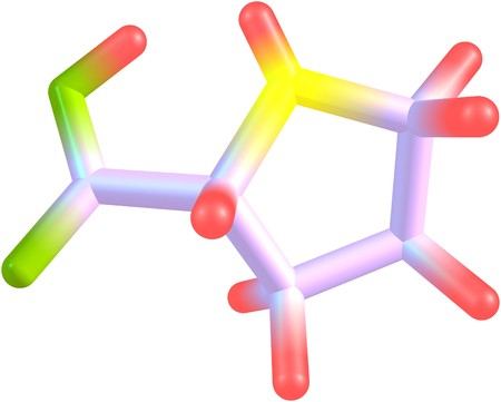proline: Proline is an alpha-amino acid that is used in the biosynthesis of proteins. 3d illustration