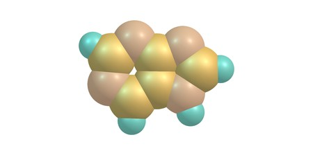 wider: Purine is a heterocyclic aromatic organic compound that consists of a pyrimidine ring fused to an imidazole ring. Purine gives its name to the wider class of molecules, purines. 3d illustration