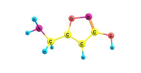 ムッシモールや agarin やアンティークはベニテングダケとキノコの近縁種の精神主体です。3 d イラストレーション