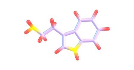 Tryptamine은 모노 아민 알칼로이드입니다. 그것은 인돌 고리 구조를 포함하고 있으며, 이름에서 유래 된 아미노산 트립토판과 구조적으로 유사하다. 3D  스톡 콘텐츠