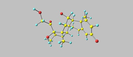immunosuppressant: Dexamethasone is a type of corticosteroid medication. It is used in the treatment of many conditions, including rheumatic problems, a number of skin diseases, severe allergies, asthma. 3d illustration