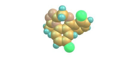 glutamate: Hydroxybutyric acid or GHB or 4-hydroxybutanoic acid is a naturally occurring neurotransmitter and a psychoactive drug. It is a precursor to GABA, glutamate, and glycine. 3d illustration