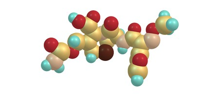 Cefuroxime is an enteral second-generation cephalosporin antibiotic. 3d illustration