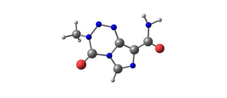 Temozolomide is an oral chemotherapy drug. It is used as a treatment of some brain cancers. 3d