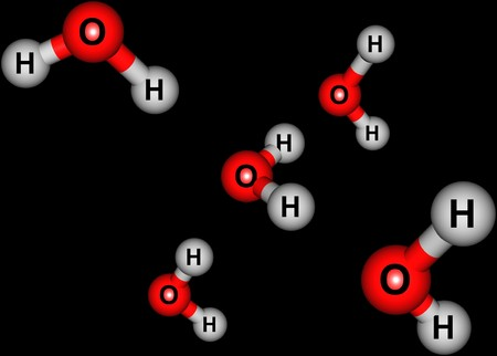 Water H2O is a polar inorganic compound that is at room temperature a tasteless and odorless liquid. 3d illustration