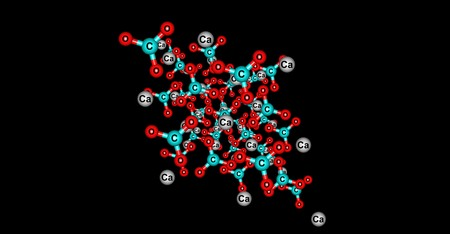 Calcite is a carbonate mineral and the most stable polymorph of calcium carbonate CaCO3. 3d illustration