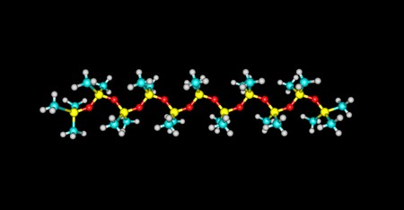 Tetramethydisiloxane is a colorless liquid. Soluble in benzene and low molecular weight hydrocarbons. 3d illustration