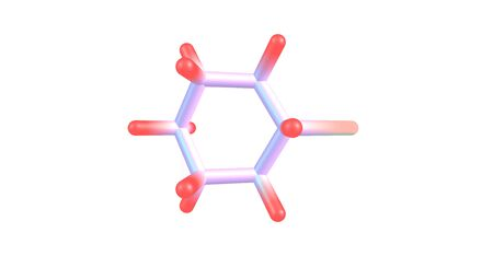 Bromocyclohexane or Cyclohexyl bromide is an organic compound with the chemical formula C6H11Br. 3d illustration Banco de Imagens - 127675309