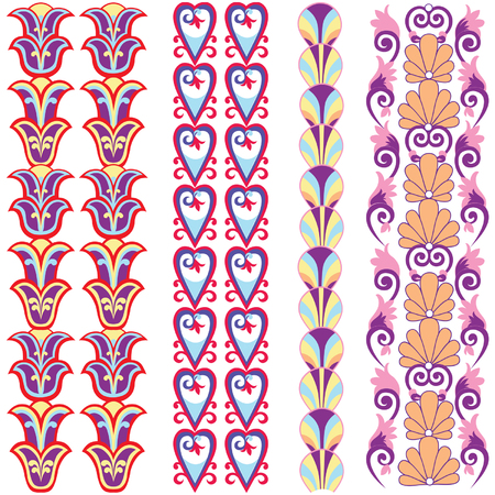 Flourish Embellishment pattern  Vector