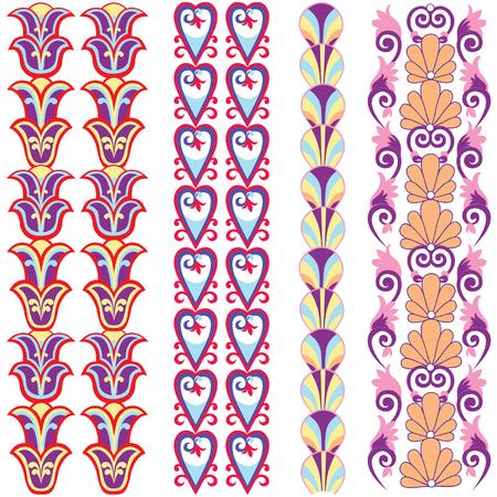revivalism: Flourish Embellishment pattern