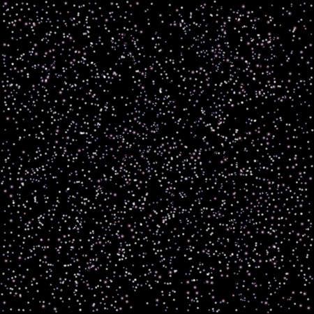 multitude: Stars in black space. Vector illustration