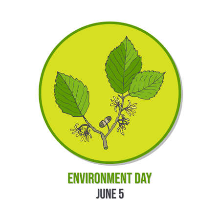 World environment day card Banque d'images - 117134563