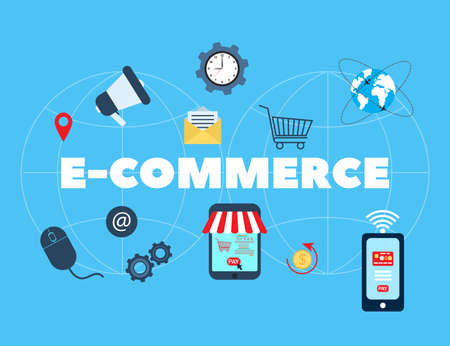 E-commerce, online shopping and retail