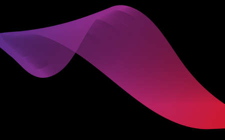 Abstract background with color wave design element. Vector illustration Vectores