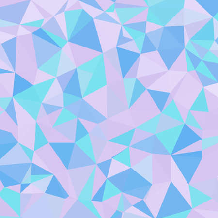 Abstract background with color triangles