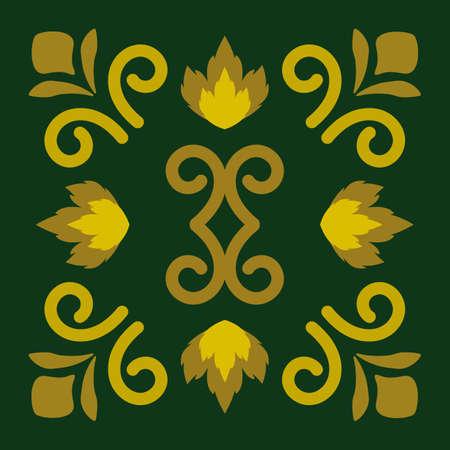 Luxury logo design, abstract emblem vector