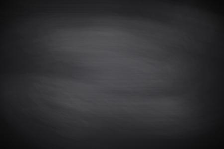 Tafel, Textur. Schwarzer leerer Tafelhintergrund, -oberfläche und -beschaffenheit mit Kopienraum. Vorlage für Restaurant, Café, Designmenü an der Wand oder für Schulthema. Vektorillustration Vektorgrafik