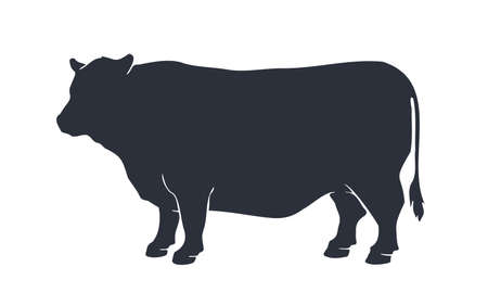Cow or bull silhouette.
