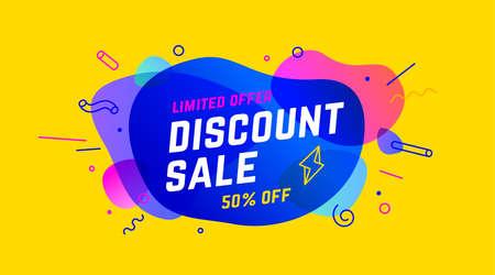 Sale, Discount banner.