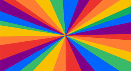 LGBT flag. Poster, banner or Rainbow flag of LGBT. Colorful rainbow lgbt flag for pride. Print for t-shirt of rainbow six colors flag with pattern background. Vector Illustration 向量圖像