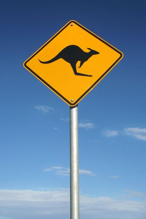 Watch out for roos photo