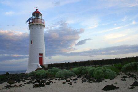 Lighthouse landscape photo