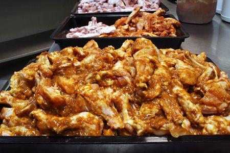 preperation: Chicken wing preperation 1