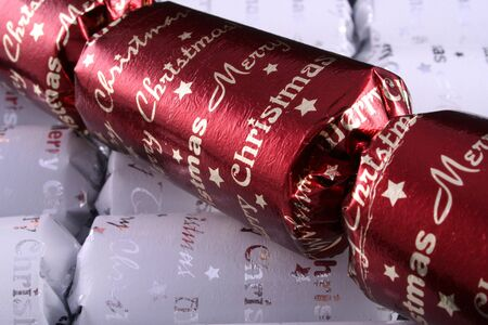 religious event: Christmas crackers 1 Stock Photo