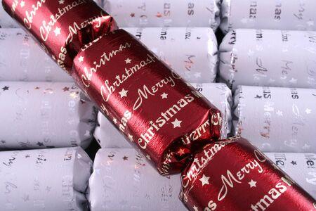 Christmas crackers 2 Stock Photo
