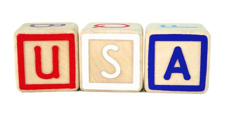 American building blocks Stock Photo - 374566
