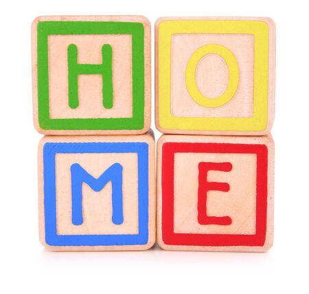 Home blocks Stock Photo - 374573