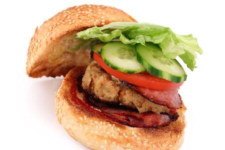 hamburguesa de pollo: Hamburguesa del pollo