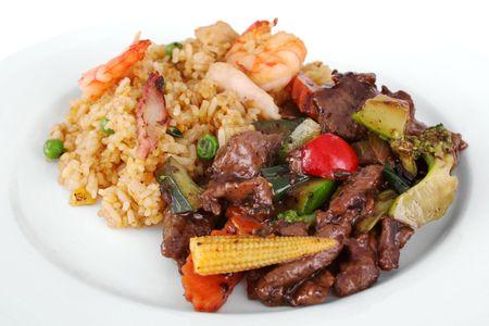 arroz chino: Comida china