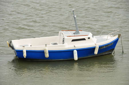 meer: Boat Stock Photo