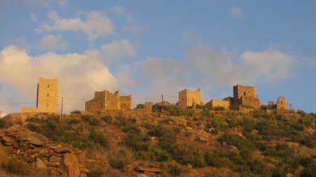 mani: Old towers in Mani, Greece