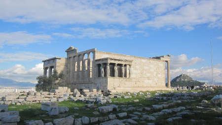 The Erechtheion, Athens photo