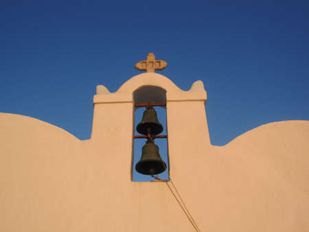 cycladic: Dettaglio chiesa greca Cicladi