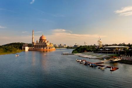 Putrajaya Lake, Malaysia photo