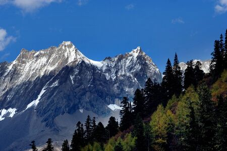 sichuan province: Day view of highland at Sichuan Province China