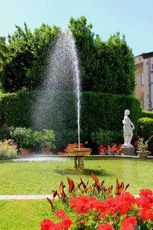 Lucca Garden Toscany Italy Stock Photo