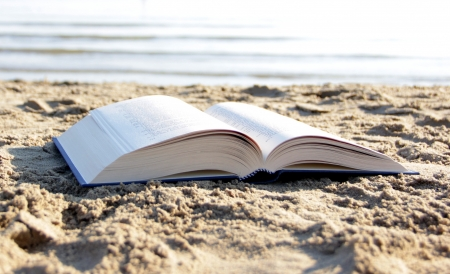 Book on the beach photo