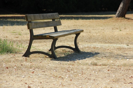 Outdoor bench Stock Photo - 16983587