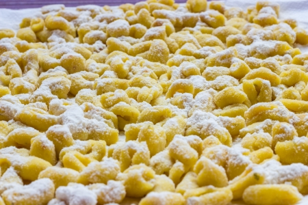 A plate of Cavatelli pugliesi from Italy