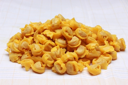 A bounch of Tortellini bolognesi from Italy Stock Photo - 17273211