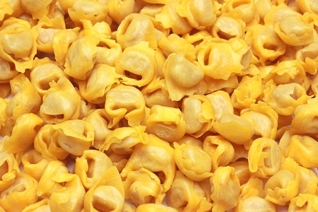 A bounch of Tortellini bolognesi from Italy Stock Photo - 17277069