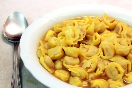 A bounch of Tortellini bolognesi from Italy Stock Photo - 17274737