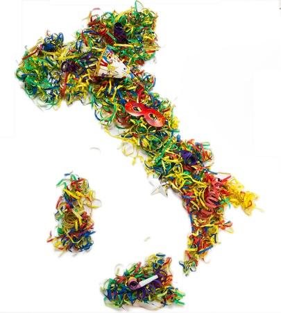 The Italian carnival Stock Photo - 17974359