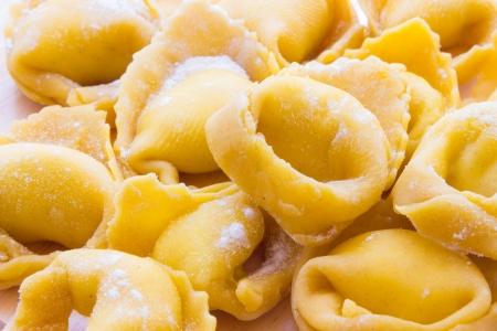 Tortellini Bolognesi from emilia Romagna Italy Stock Photo - 18155541